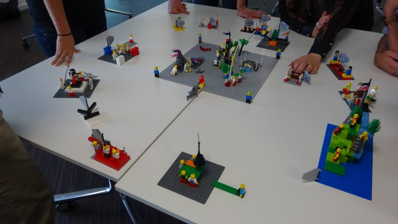 LEGO SERIOUS PLAY image of the fundamentals of a successful project