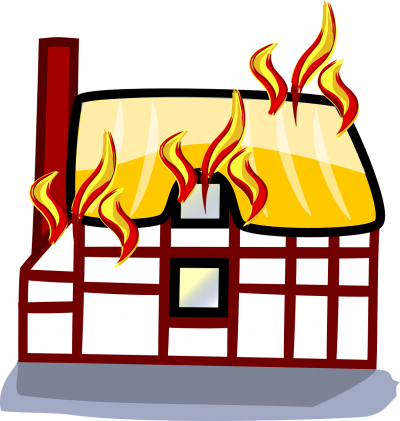 Duidelijke communicatie : the house is on fire