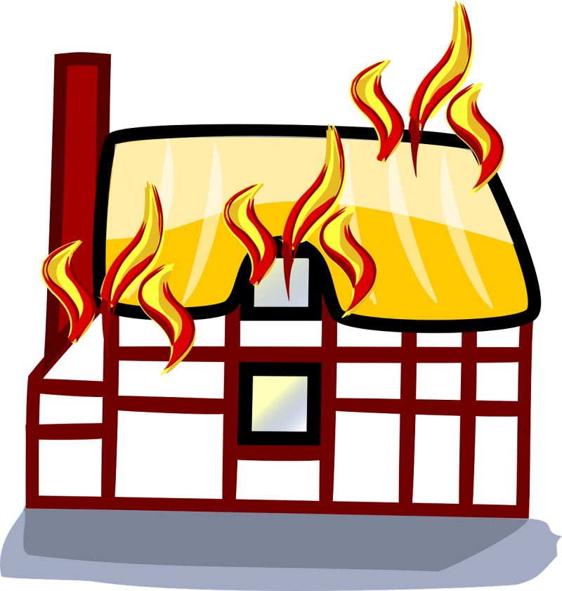 Duidelijke communicatie : the house is on fire